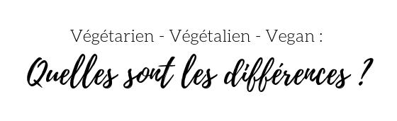 Végétarien - Végétalien - Vegan _ quelles sont les différences _