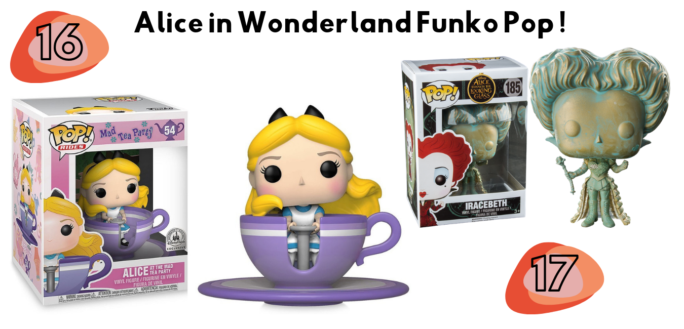 Alice in wonderland wishlist Funko Pop